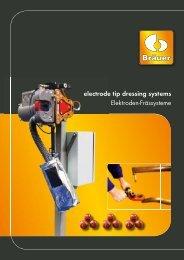 electrode tip dresser for manual welding guns - REMA Fügetechnik ...
