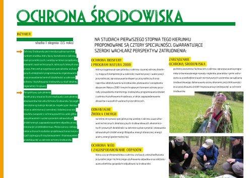 Informator na rok 2013/14 - Wyższa Szkoła Ekologii i Zarządzania