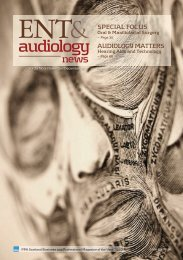 Link to PDF - ENT and Audiology News
