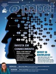 INVISTA EM CONHECIMENTO - Revista O Papel