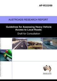 Guidelines for Assessing Heavy Vehicle Access to Local Roads