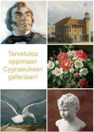 Tehtäviä Cygnaeuksen gallerian taiteilijoista - Museovirasto