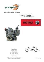 Ersatzteil und Preisliste Rotax 1 2006.indd