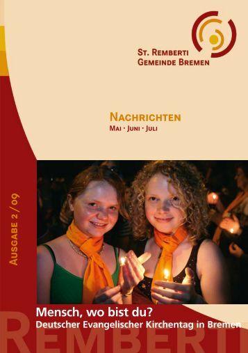 Nachrichten - St. Remberti Gemeinde Bremen