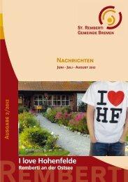 I love Hohenfelde - St. Remberti Gemeinde Bremen