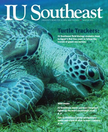 Turtle Trackers: - Indiana University Southeast
