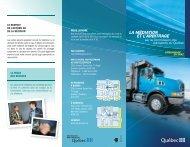 médiation ou de l'arbitrage - Commission des transports du Québec