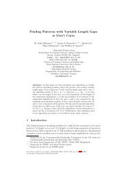 Finding Patterns with Variable Length Gaps or Don't ... - ResearchGate