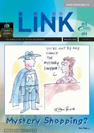 LINK Magazine Issue 38 – April 2005 - Department of Public ...