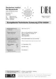 Europäische Technische Zulassung ETA-10/0391 - Remmers