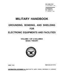 military handbook grounding, bonding, and shielding for ... - n7tgb