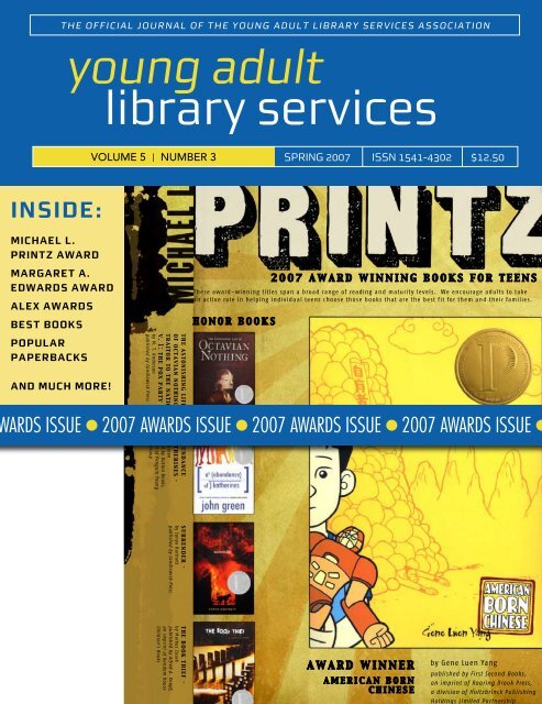 Spring 2007 - YALSA - American Library Association