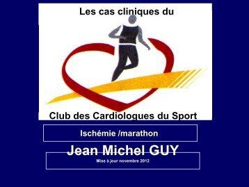 Ischémie /marathon. - Club des Cardiologues du Sport