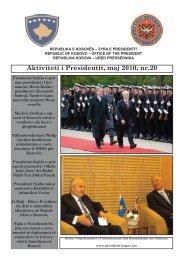 Aktivitetet e Presidentit, nr 20 - Kosovo President