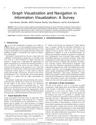 Graph visualization and navigation in information ... - InnoVis