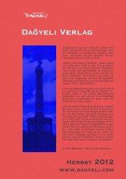 Dağyeli Verlag - Prolit Verlagsauslieferung GmbH