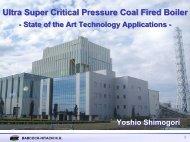 Ultra Supercritical Pressure Coal-Fired Boiler