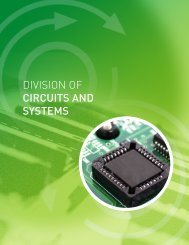 DIVISION Of CirCUiTs aND sYsTeMs - Virtus - Nanyang ...