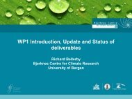 WP1 Introduction, Update and Status of deliverables - meece