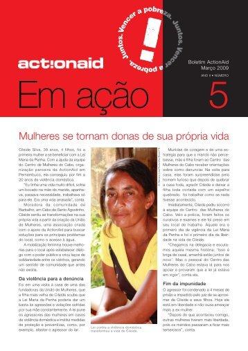 Mulheres se tornam donas de sua própria vida - ActionAid Brasil