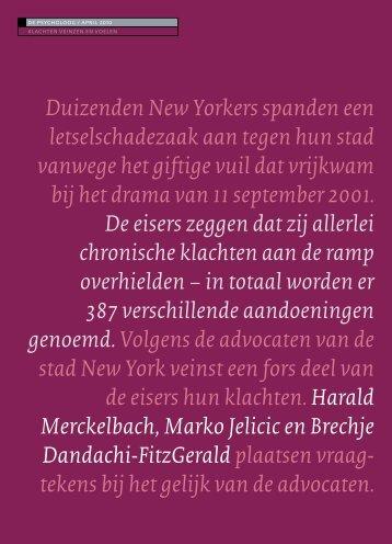 Klachten Veinzen En Voelen - Harald Merckelbach