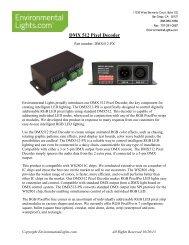 DMX 101: A DMX 512 HANDBOOK - Rite Lites