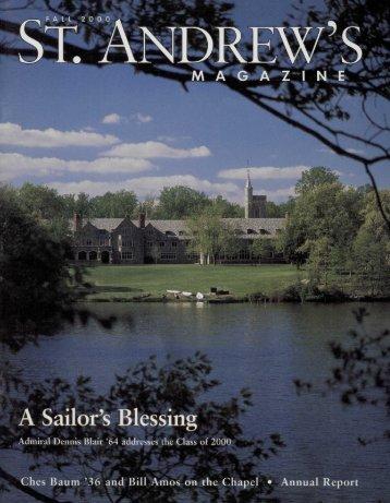 Sailor's - Saint Andrew's School Archive - St. Andrew's School