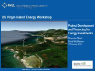 Project Development & Financing for Energy Investments