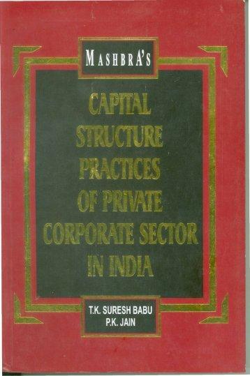 T K Suresh Babu and P K Jain - National Institute of Technology