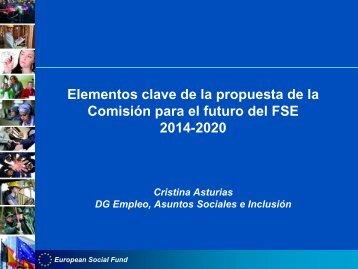Elementos clave de la propuesta de la Comisión para el futuro de ...