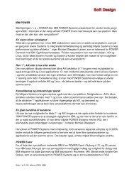 IBM Power - Hvad kan den, den nye platform ... - Soft Design A/S