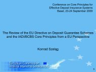The Review of the EU Directive on Deposit Guarantee Schemes and ...