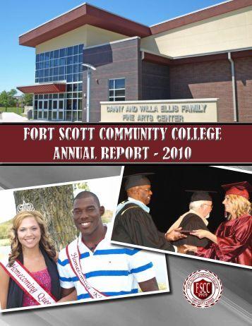 FORT SCOTT COMMUNITY COLLEGE ANNUAL REPORT - 2010 ...
