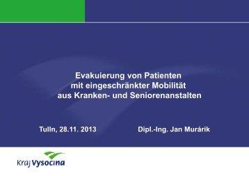 Evakuierung von Patienten mit eingeschränkter Mobilität aus ...