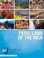 Peru: Land of the Inca - EF Educational Tours