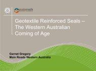Geotextile Reinforced Seals – The Western Australian ... - Aapaq.org