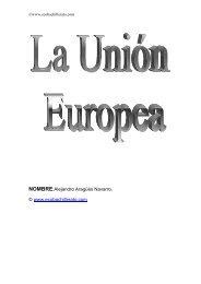 La Unión Europea - Ecobachillerato