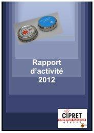 Rapport d'activité 2012 - Prevention.ch