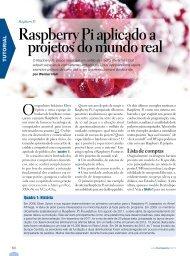 Raspberry Pi aplicado a projetos do mundo real - Linux New Media