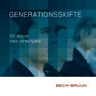 GENERATIONSSKIFTE - Bech-Bruun