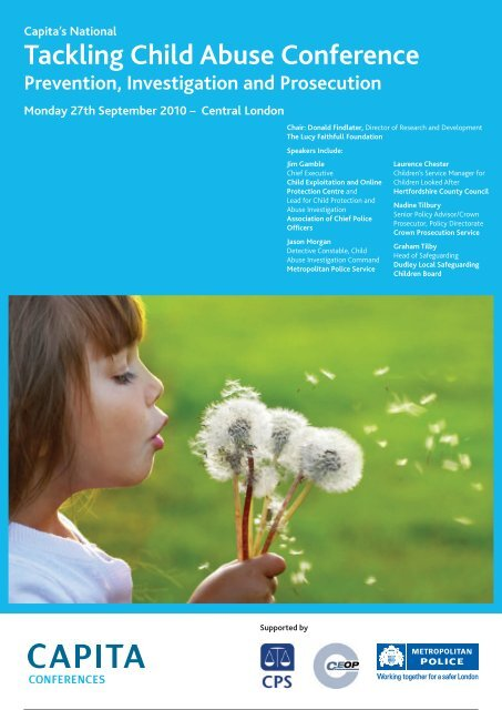 Tackling Child Abuse Conference - Partnership for Young London