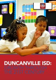 DUNCANVILLE ISD: - Business Review USA