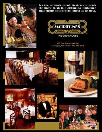 Morton's-S.A. MENU - Your Restaurant Connection