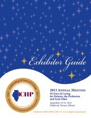 2013 Complete Exhibitor Guide - ICHP