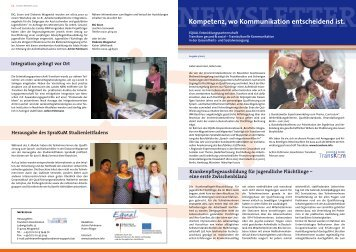 Newsletter Nr. 3 - Transkom