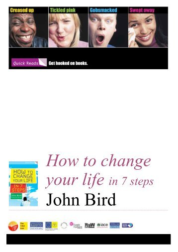 how to change your life in 7 steps bird john