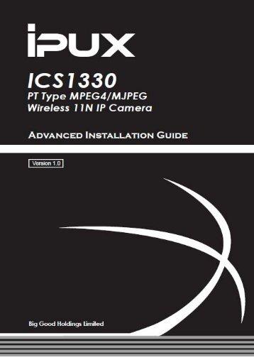 Wireless Pan-Tilt MPEG4/MJPEG Network Camera - iPUX
