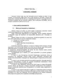 Protocol cancerul mamar - Spitalul Clinic Municipal de Urgenta ...