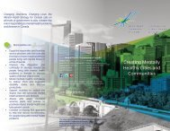 Creating Mentally Healthy Cities and Communities - Mental Health ...