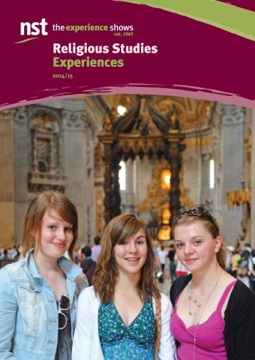 Religious Studies Experiences - NST